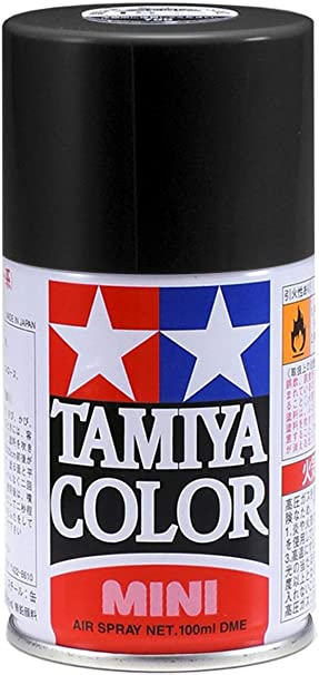 Tamiya 85006 Lacquer Spray Paint, TS-6 Matt Black - 100ml Spray Can