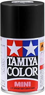 Tamiya Matte Black Lacquer Spray Paint TS-6, 3oz - TAM85006