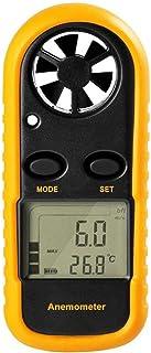 TOOGOO Gm816 Digital Handheld Anemometer, Pocket Digital Anemometer With Lcd Display For Measuring Wind Speed, Temperature...