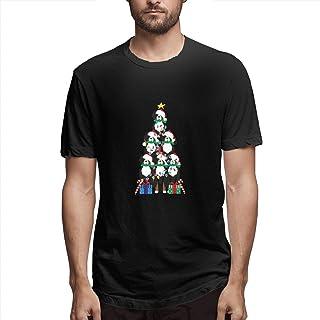 55c86d0ceecd1 saletopk Arbre de Noël de Chiot Bernois de MT Chien T-Shirts personnalisés  à col