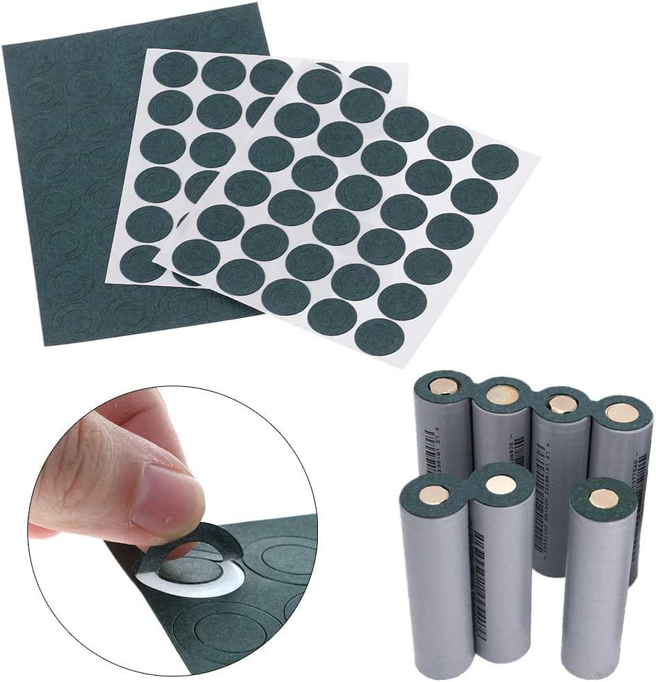 Yuanhaourty 1S 18650 Battery Insulation Gasket Barley Paper Li Cell Insulating Glue Patch