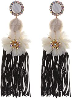 Flyme FlymeLuxury Fashion Design Candy Flowers Blooming Crystal Pendant Statement Necklace jewlery