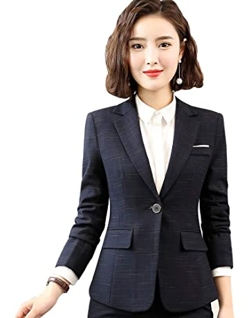 ab7a5aaf35f9f チェックスーツジャケットレデイースビジネス服OL出勤服入学卒業式スーツセット大きいサイズ