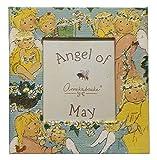 Gnomys Diaries Angel De Mayo Marco de Fotos con Iman, Cartón, Multicolor, 6x0.2x8 cm