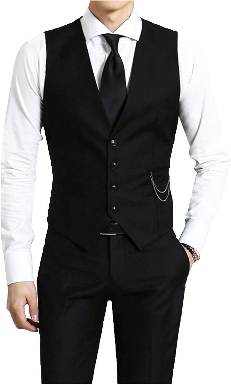 Kayhan Hombre Chalecos Corte Camisa Manga Larga Slim Fit S - 6XL Modello Monaco