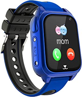 comprar comparacion Impermeable GPS Smartwatch para Niños, IP67 Impermeable Reloj inteligente Phone con GPS LBS Tracker SOS Chat de voz Cámara...