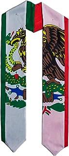 Mexico Mexican flag graduation sash/stole/scarf