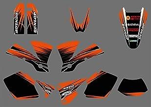 NICECNC de la Motocicleta de la Etiqueta y Etiqueta engomada for KTM EXC 125 200 250 300 400 450 525 2003 1 Matching Juegos completos Gráfico Adhesivos Kit