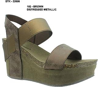 Pierre Dumas Hester-1 Womens Platform Wedge Sandals