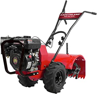 Best 18 in 196cc gas 4 cycle rear tine tiller Reviews