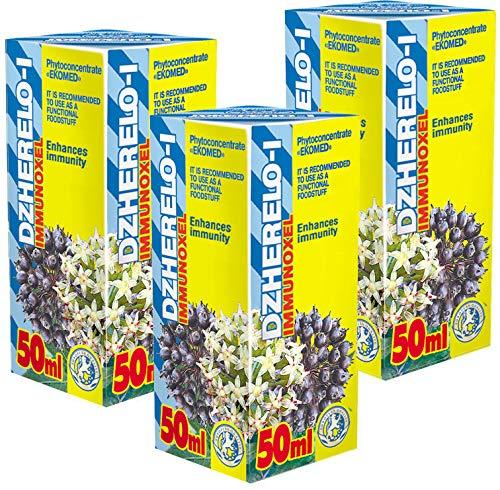 Immunoxel Fytokoncentrat paket med 3-21 dagars kurs - Naturliga växtextrakt - Effektiv immunförstärkare - Förkylning - influensa - munsår - antiviral