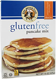 King Arthur Flour - Gluten-Free Pancake Mix - 15 oz (pack of 2)