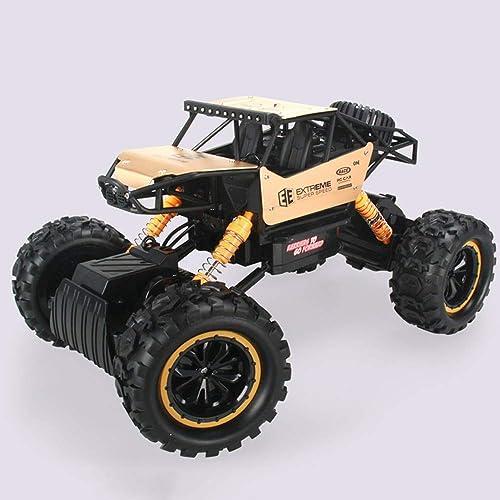 NKnk RC Cars 2.4GHzFour-Wheel Drive Spielzeug Rennwagen Elektro Rock Rennwagen Reifen Funksteuerung Fahrzeug Umweltschutz Fernbedienung Autos Spielzeug Off Road CarsGreat Geschenkidee für Kinder