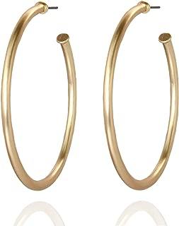 Best gold tubular hoop earrings Reviews
