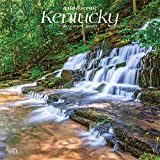 Kentucky Wild & Scenic 2021 12 x 12 Inch Monthly Square Wall Calendar, USA United States of America Southeast State Nature