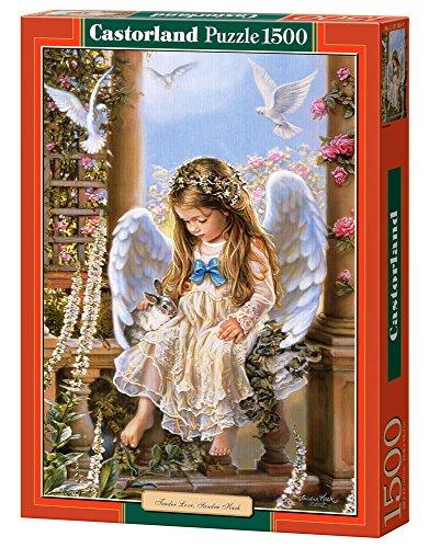 Tender Love, Sandra Kuck 1500 pcs Puzzle   Rompecabezas (Sandra Kuck 1500 pcs, Puzzle Rompecabezas, Niños, Niños y Adultos, Niño/niña, 9 año(s), Interior)