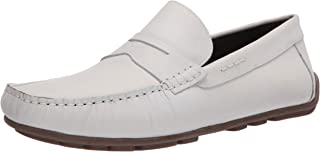 Driver Club USA Genuine Leather Luxury Loafer with Penny Detail mens Driving Style Loafer