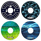 Lil Sucker Fish Suction Ring - 4 Pack
