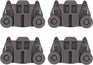 WPW10195417 W10195417 Dishwasher Lower Dishrack Wheel Assembly for Whirlpool, Kitchen-Aid, Kenmore, Jenn-Air, Ikea. Replace Part 1872128, AP6016764, PS11750057, EAP11750057, W10195417, WPW10195417VP