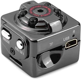 NIYPS Minicámara Oculta espía, 1080P portátil, pequeña, HD con visión Nocturna y detección de Movimiento, cámara de Seguri...