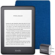 Kindle Essentials Bundle including All-new Kindle, now with a built-in front light, Black - with...
