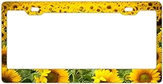 Best sunflower license plate frame Reviews