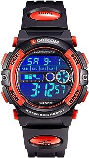 Ragazzi Orologi Digitali,Bambini Sport 5 Atm Impermeabile Orologio Con Sveglia/Cronometro/Luci di Sfondo Colorato,Bambini ...