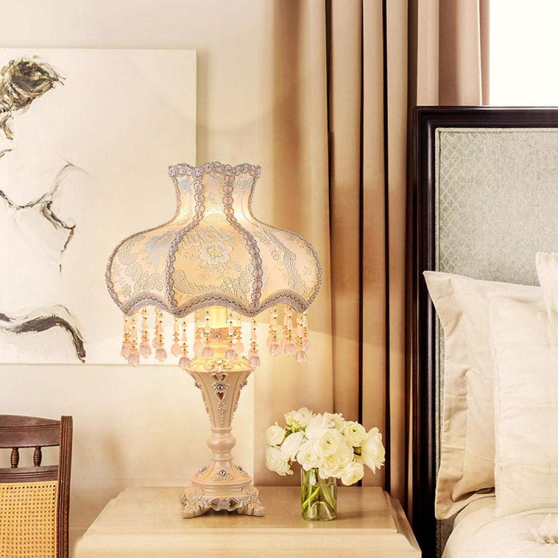 Led Schreibtischlampe Touchbedienung Dimmbareeuropischen Stil Tischlampe Schlafzimmer Nachttischlampe Persnlichkeit Kreative Warm Warm Licht Bett Kopf@2022 Lampentastenschalter