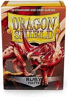 Dragon Shield Matte: Ruby (100 Stück)