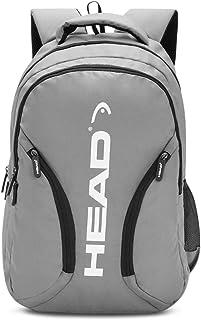 HEAD 24.28125 Ltrs Grey School Backpack (HD/BORR07BP)