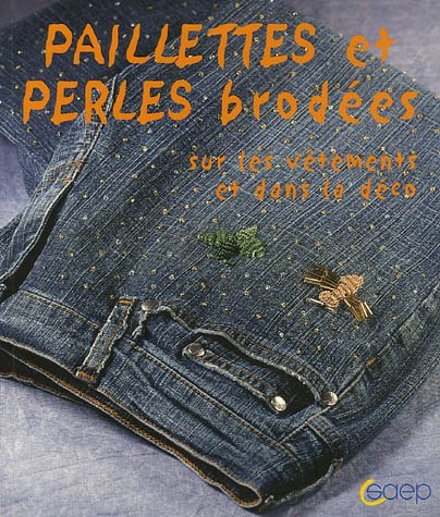 Paillettes et perles brodées