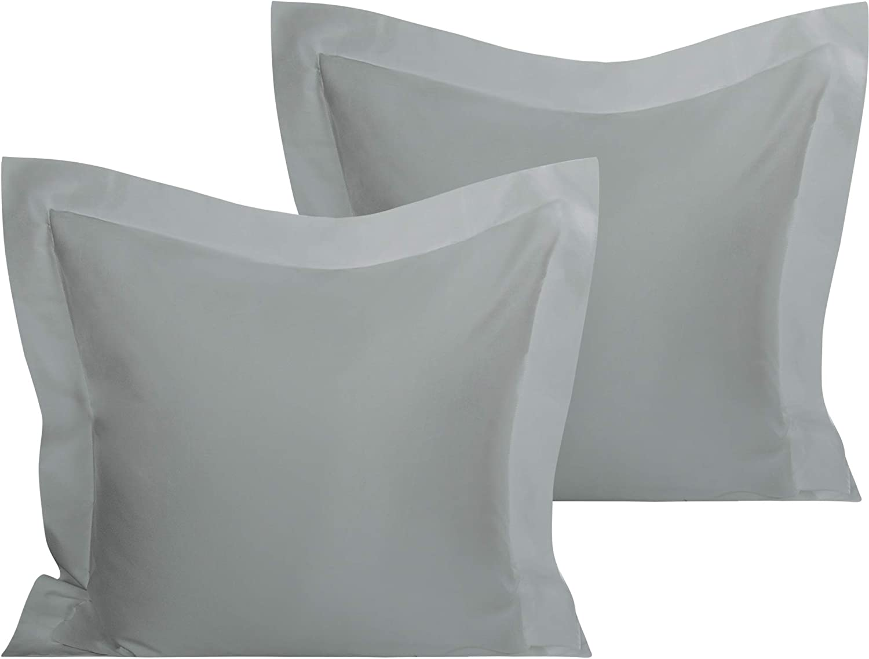 organictune Popular popular 100% Organic Cotton European Shams Max 61% OFF 80 Pillow Square