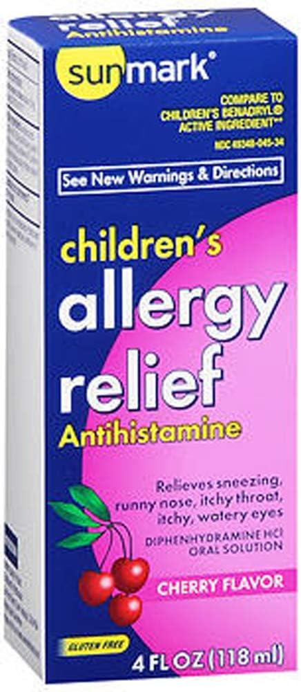 Sunmark Allergy Relief Liquid 4 Cherry Trust Surprise price oz