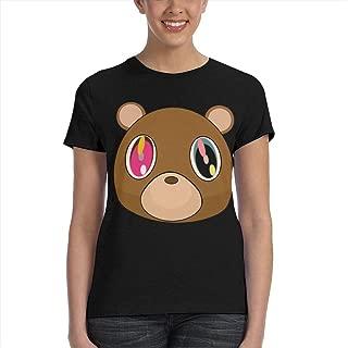 Color Bear Womens T-Shirts Adult Tee Shirt 3D Print Tshirts Short Sleeve Crew Neck Tops