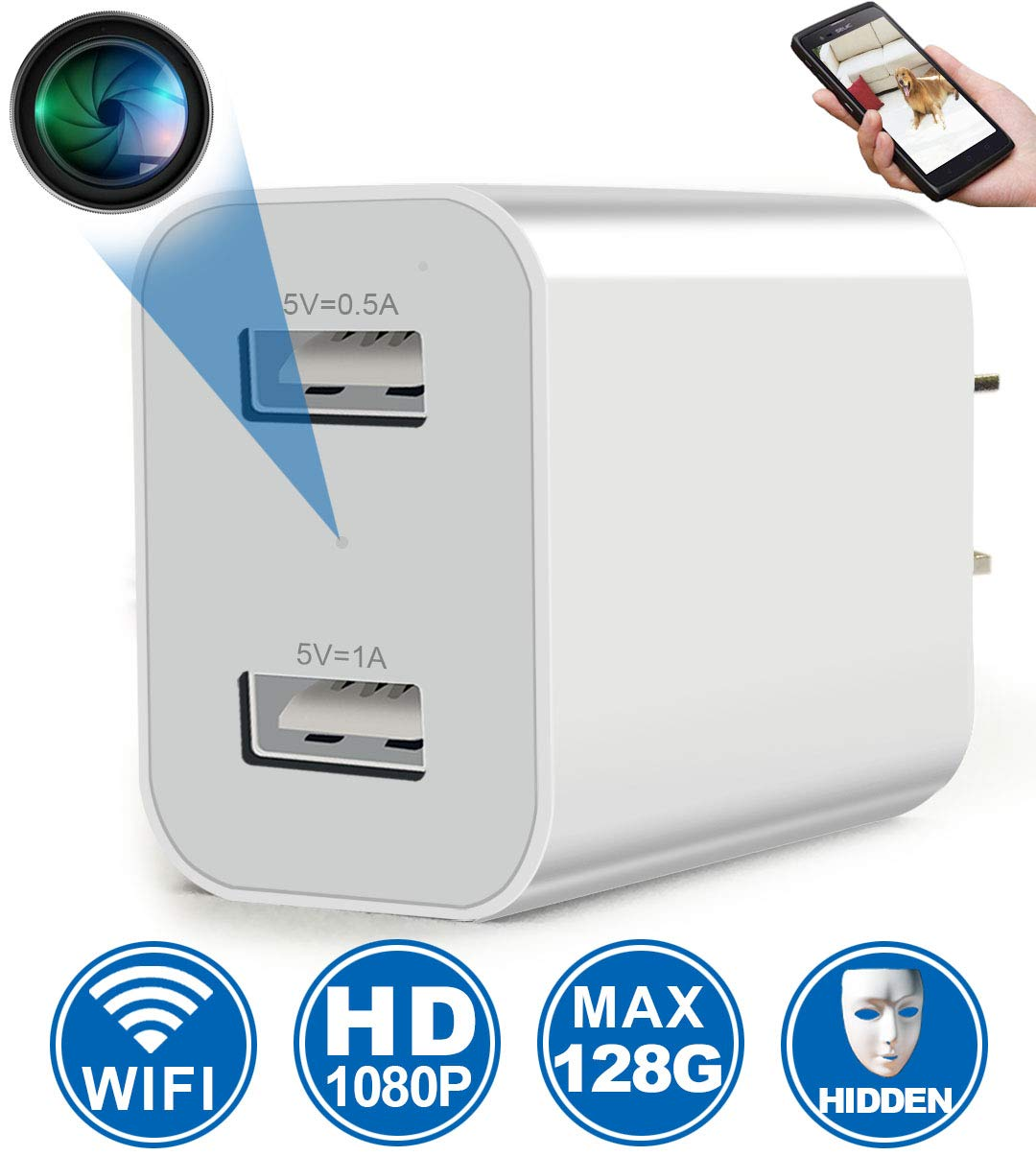 Wireless Viewing Security Recorder Activated