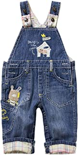 Mud Kingdom Little Boys Overalls Casual Star