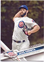 Jake Arrieta 2017 Topps League Leaders #270 - Chicago Cubs