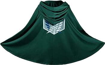 NC Japan Anime Shingeki No Kyojin Cloak Attack on Titan Cosplay Cloth Green