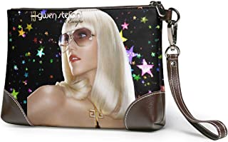 Exquisite Waterproof Soft Leather Clutches Bag Small Wallets For Women With Strap Gift