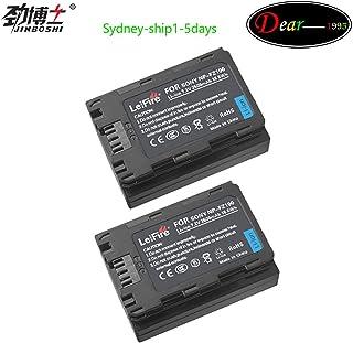KEENKI 2 x NP-FZ100 Z Series Rechargeable Battery Pack for Sony NPFZ100 BC-QZ1 A7RM3 A7R III ILCE-A9 ILCE-9 ILCE9 Alpha A9 Digital Camera