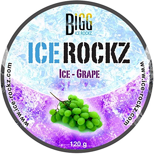 Aladin BIGG Ice Rockz-Dampfsteine-Grape-120 gr, S