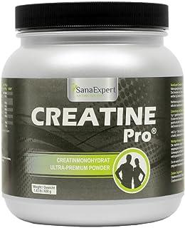 SanaExpert Creatine Pro(Creapure ®),运动饮料,215份,100%肌酸一水,肌酸粉,650克