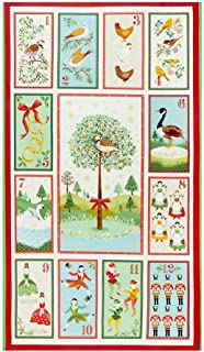 Best 12 days of christmas panel fabric Reviews