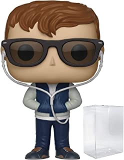Funko Pop! Movies: Baby Driver - Baby Vinyl Figure (Bundled with Pop Box Protector Case)