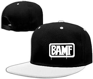 MCCREE BAMF Unisex Outdoor Hip Hop Hiking Cotton Cap Hat Adjustable Red