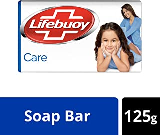Lifebuoy Care Germ Protection Soap Bar 125 g - Pack of 3