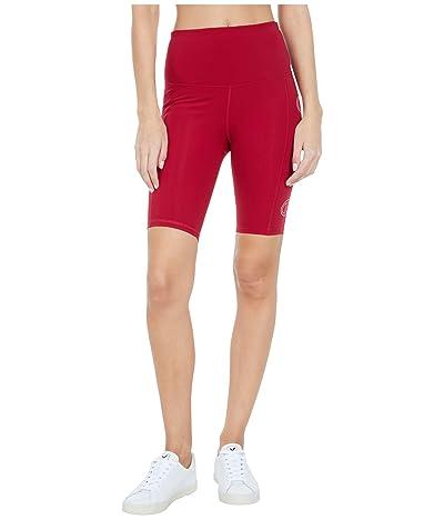 Champion Sport Bike Shorts (Cranberry Red/Deep Raspberry) Women