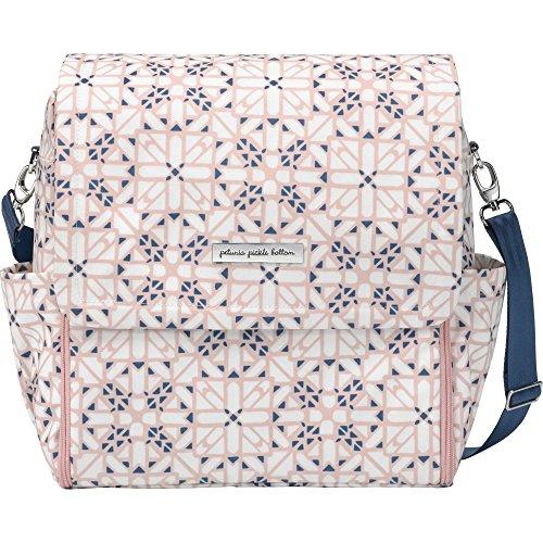 Petunia Pickle Bottom Boxy Backpack PEBBGL55900 Kindergartenrucksack mit Wickelauflage, mehrfarbig (Alpine Meadows), Einheitsgröße