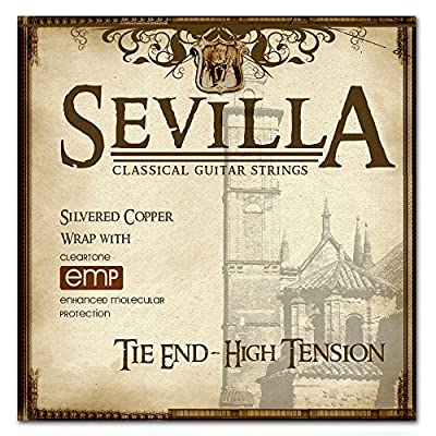 Sevilla Treated Classical Guitar Strings (HIGH TENSION TIE END)
