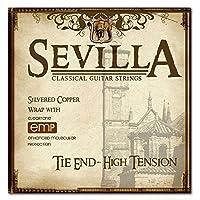 [SEVILLA] セヴィラ クラシックギター弦 ハードテンション TIE END コーティング弦